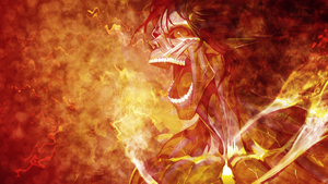 Shingeki no Kyojin Wallpaper - Titan by umi-no-mizu