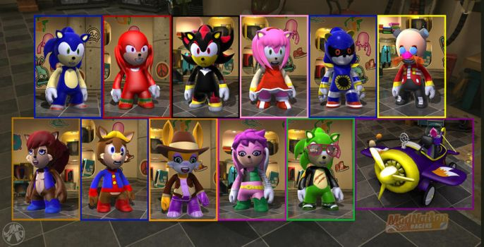 MNR - Final Sonic Collection by JustinGreene