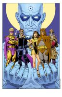 WatchmenPosterColor by davegibbons