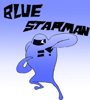 Blue Starman by that-one-guy-again