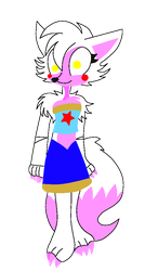 Mangle The Fox [Crusader Version] Faby + Mangled by Mangled-Funtime-Fox