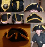 Officers hat British Army 1775 by GeneralVyse