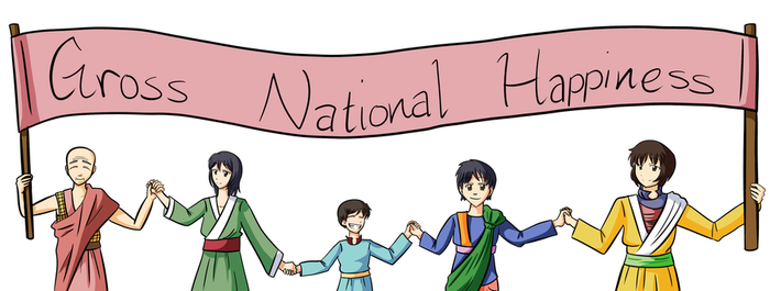 Gross National Happiness by Akiranne