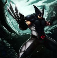 Wolverine x-force by SemperII