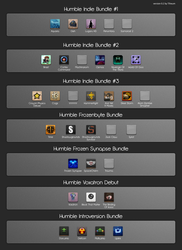 Faenza and Faience Humble Indie Bundle pack by tiheum