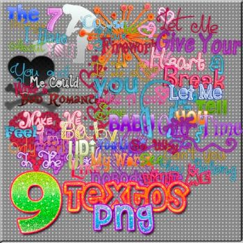 Pack Textos png Canciones by MilyDeBieberGomez