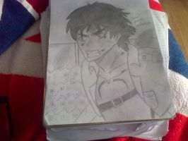 Finished Eren Jaeger by epicbubble7