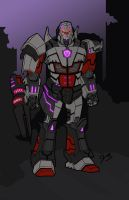 Lord Megatron by jbvirus