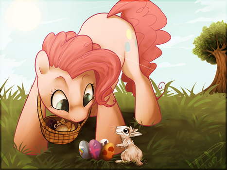 Easter day by Imalou