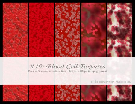 Blood Cell Textures by BirdseyeStock