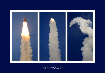 STS-127 Ascent Collage by OpticaLLightspeed