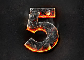 Fire burning text effect - Photoshop by Giallo86