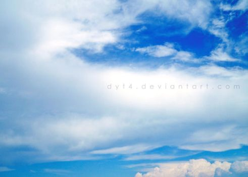 the sky is blue by dyt4