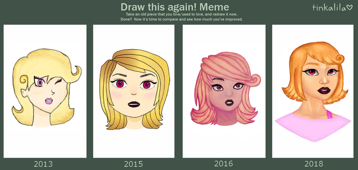 Draw This Again Meme by Tinkalila