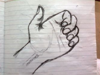 Left Hand: Quick Sketch 1 by Shabihu
