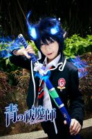 Ao no Exorcist: Okumura Rin by blooddrencher