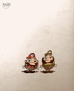 Little Mario Bros. by Themrock