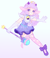 magical girl superstar by catlinq