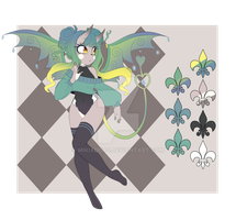 -:Succubus Auction CLOSED:- by MikiAdops