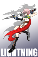 FFXIII- Lightning by mell0w-m1nded