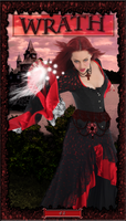 Lady of Wrath Tarot Card 42 by TheStockWarehouse