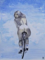 BicycleRace by Strooitje