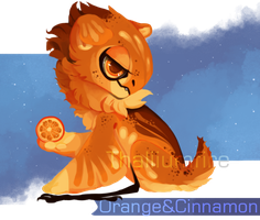 Orange and Cinnamon by NebNomMothership