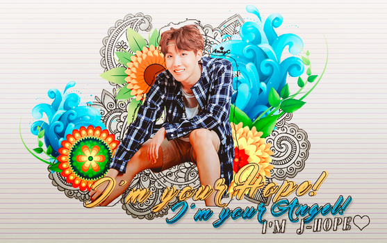 I'm J-hope by AmayraniCB