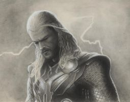 Thor, The Mighty Avenger by RRJones