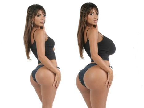 Another Huge Butt Morph Comparison by AGuyInDC