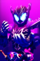 [MMD KAMEN RIDER] The ROGUE Crocodile by MIST-TO-GUN