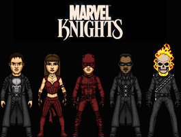 Marvel Knights by MicroManED