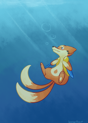 Floatzel by KumariKat