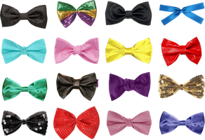 16 Bows PNG by Anavrin2010