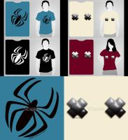 Nips And Spiders Shirts by SEspider