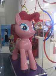 Spotted: Pinkie Pie Statue by RobbieMelrose