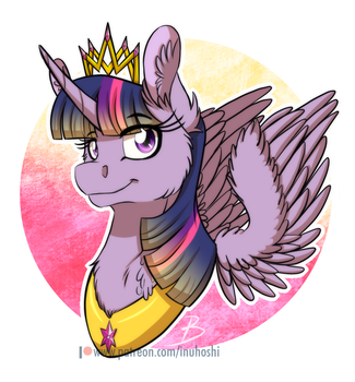 MLP:YL - Princess Twilight Sparkle by InuHoshi-to-DarkPen