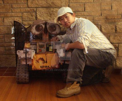 Me and Wall-E by JPLee
