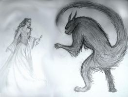 Beauty and the Beast by Sidhe-Etain