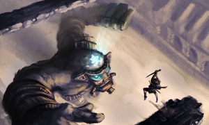 Shadow of the colossus - Argus by GLV-DA