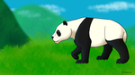 How I Draw A Panda (request) 2 by horse14t