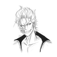Grimmjow Sketch by Namiiru
