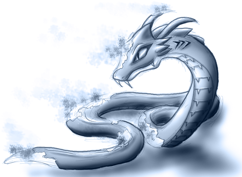 Zest the invisible serpent by Puretails