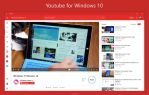 Youtube app For Windows 10 Light Theme Concept by armend07