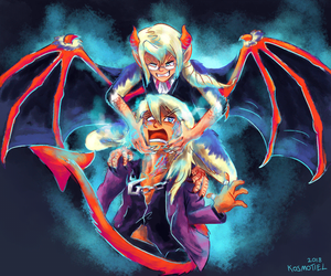 Devil Kristoph attacks again! by Kosmotiel