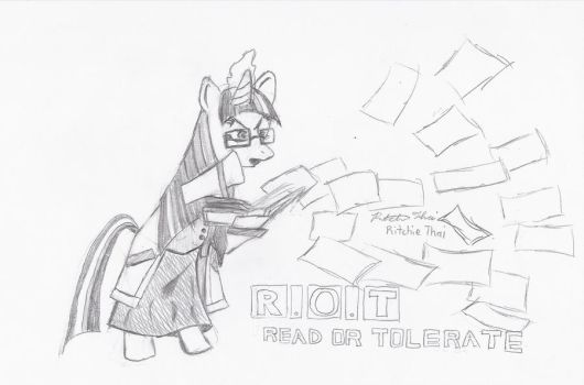 Read or Tolerate by Tela-Ferrum
