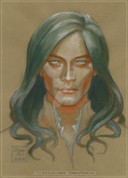 Feanor colour study by BohemianWeasel
