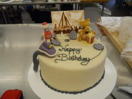 Mystery Science Theater 3000 Cake by Dreamstrifer
