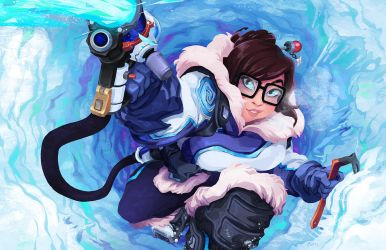 Mei - Overwatch by curry23