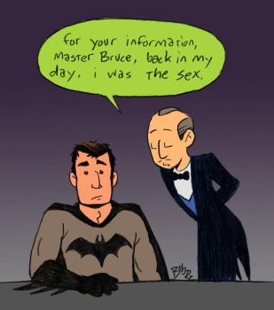 Alfred is the sex by Bob-Rz